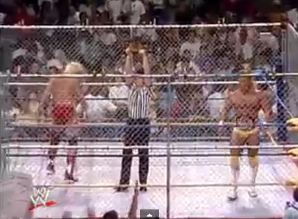 Image result for Cage Match vs Barry Windham Lex Luger